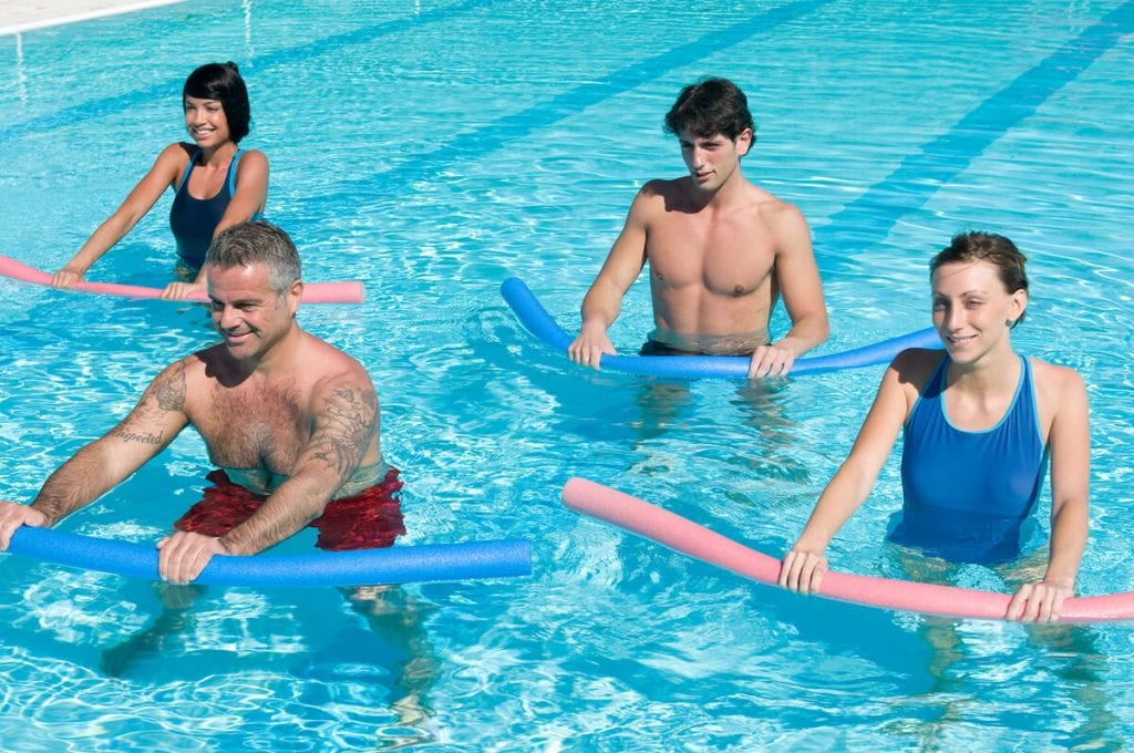 With Kaenz you can reduce pain in the pool.