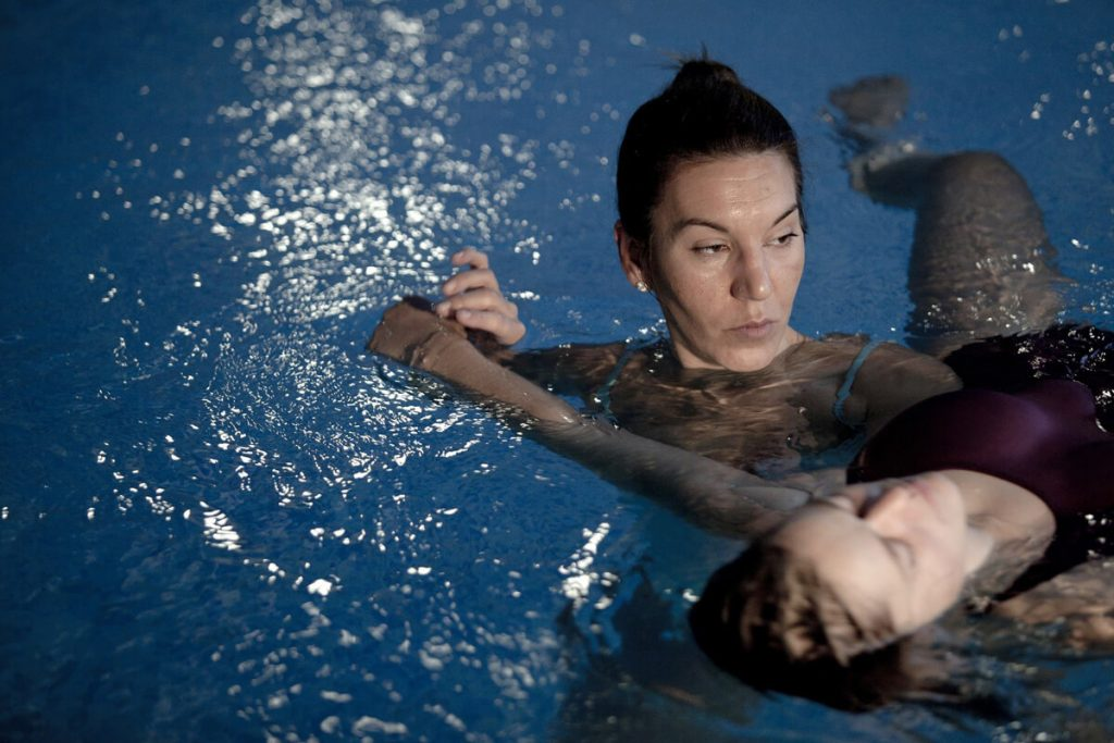 Craniosacral therapy in water is one of the most important methods in aquatic therapy.