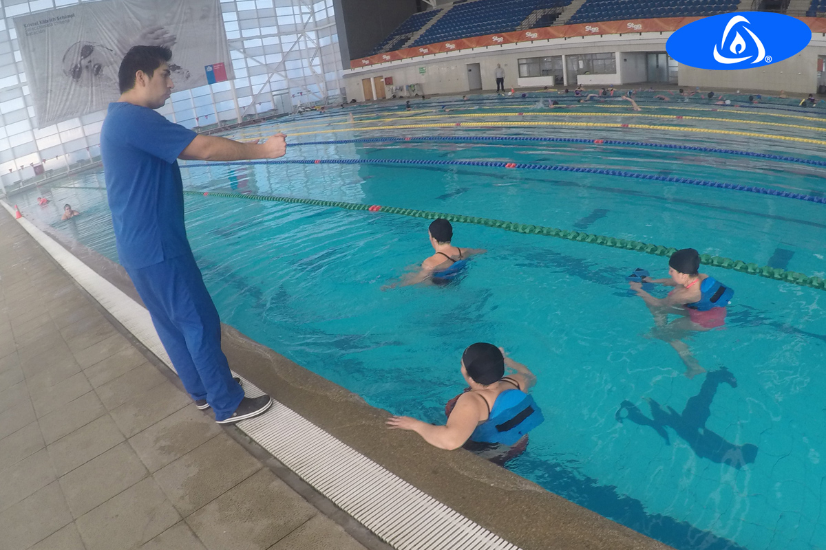 Kaenz is one of the most important methods in aquatic therapy.