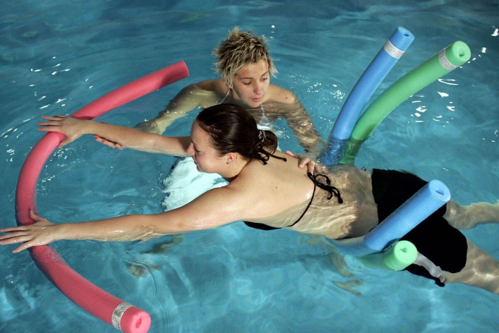 The 10 most important methods in aquatic therapy.