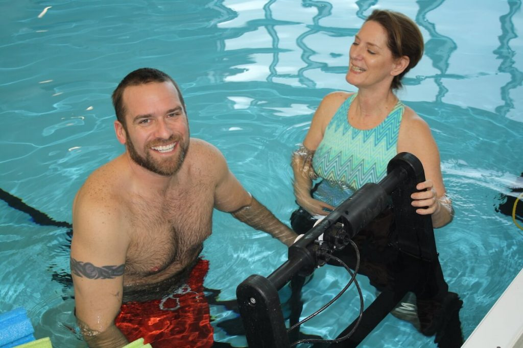 Physiology of cardiovascular exercise in swimming pool.